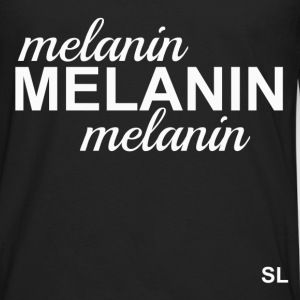 MELANIN T-shirt T-Shirts - Men's Premium Long Sleeve T-Shirt
