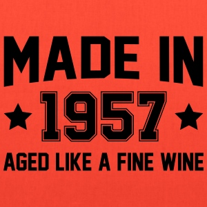 Made In 1957 Aged Like A Fine Wine T-Shirts - Tote Bag