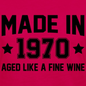 Made In 1970 Aged Like A Fine Wine T-Shirts - Women's Premium Long Sleeve T-Shirt