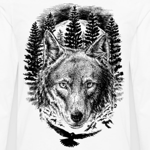 AD Wolf T-Shirts - Men's Premium Long Sleeve T-Shirt