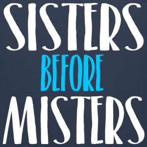 Sisters Before Misters T-Shirts - Men's Premium Tank