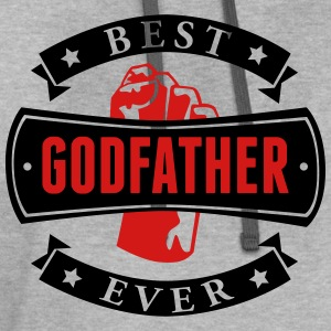 Best Godfather Ever T-Shirts - Contrast Hoodie