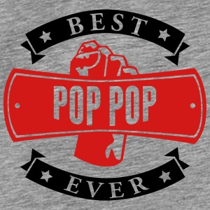 Best Pop Pop Ever Hoodies - Men's Premium T-Shirt