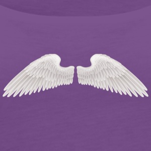 angel wings angelic wings vector - Women's Premium Tank Top
