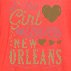 This Girl Loves New Orleans T-Shirts - Women's Flowy Tank Top by Bella
