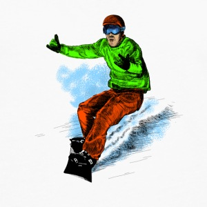 snowboarding Kids' Shirts - Men's Premium Long Sleeve T-Shirt