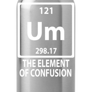 The Element Of Confusion - Water Bottle