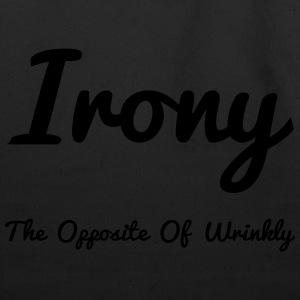 Irony Opposite Of Wrinkly - Eco-Friendly Cotton Tote