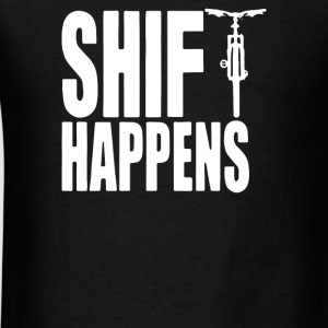 shift happens - Men's T-Shirt
