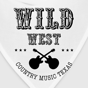Wild West Black  - Bandana