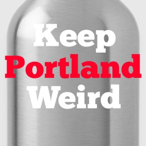 Keep Portland Weird  T-Shirts - Water Bottle