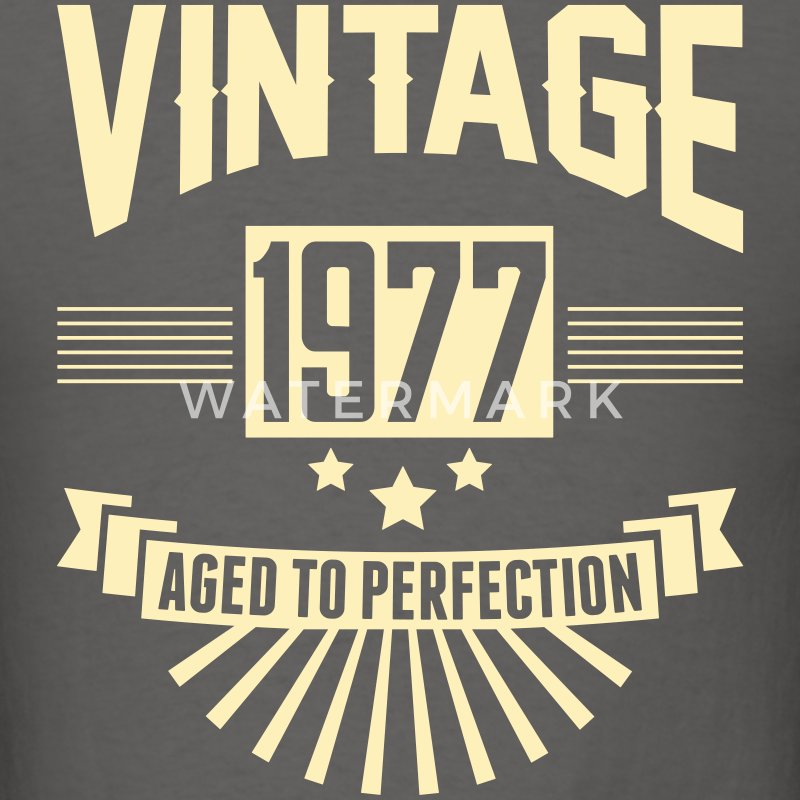 VINTAGE 1976 - Aged To Perfection T-Shirts - Men's T-Shirt
