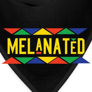 Melanated (Yellow Letters) - Bandana