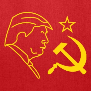 Trump Hammer and Sickle Long Sleeve Shirts - Tote Bag