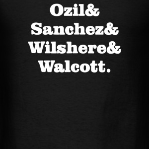 Ozil and Sanchez and Wilshere and Walcott - Men's T-Shirt