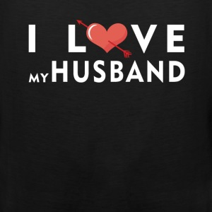 Husband - I love my husband - Men's Premium Tank