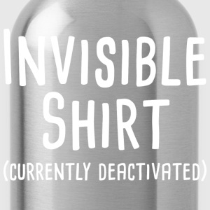 Invisible Shirt - Water Bottle
