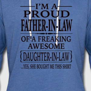 Father-In-Law - Unisex Lightweight Terry Hoodie