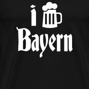 I Love Bayern - Men's Premium T-Shirt