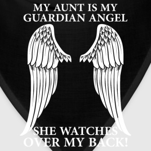 My Aunt Is My Guardian Angel T-Shirts - Bandana