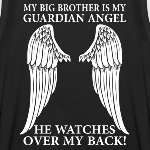 My Big Brother Is My Guardian Angel T-Shirts - Men's Premium Tank