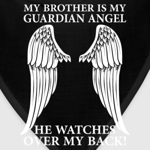 My Brother Is My Guardian Angel Long Sleeve Shirts - Bandana