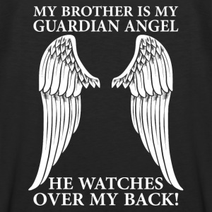 My Brother Is My Guardian Angel Long Sleeve Shirts - Men's Premium Tank