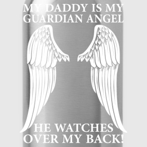 My Daddy Is My Guardian Angel T-Shirts - Water Bottle