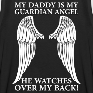 My Daddy Is My Guardian Angel T-Shirts - Men's Premium Tank
