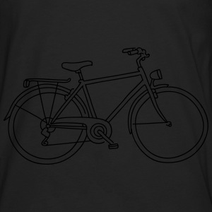 Bicycle (glows in the dark) - Men's Premium Long Sleeve T-Shirt