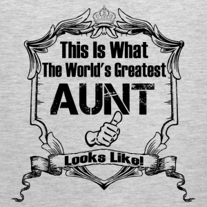 This Is What The World 's Aunt Looks Like T-Shirts - Men's Premium Tank