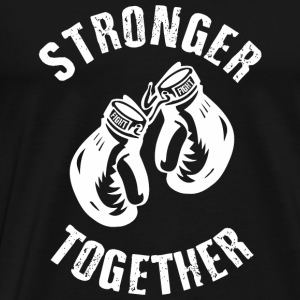 Stronger Together Long Sleeve Shirts - Men's Premium T-Shirt