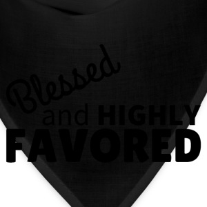 Blessed & Highly Favored Baby Bodysuits - Bandana