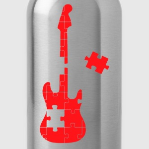 guitar puzzle - Water Bottle