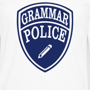Grammar Police - Men's Premium Long Sleeve T-Shirt