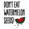 Don't eat watermelon seeds Tanks - Women's Premium Tank Top