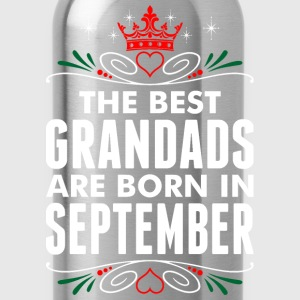 The Best Grandads Are Born In September T-Shirts - Water Bottle