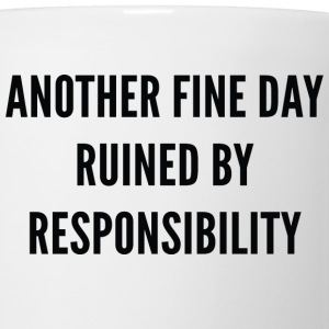 Responsibility - Coffee/Tea Mug