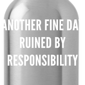 Responsibility - Water Bottle