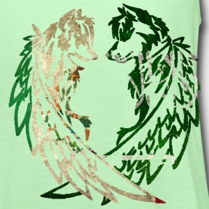 MEXICO SAUDI ARABIA WOLF T-Shirts - Women's Flowy Tank Top by Bella