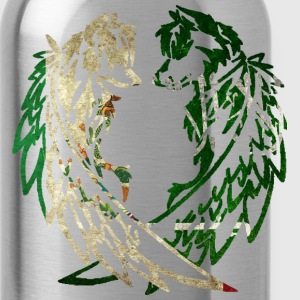 MEXICO SAUDI ARABIA WOLF T-Shirts - Water Bottle