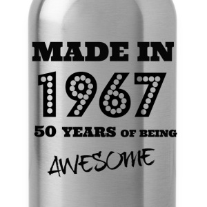 Made in 1967 50th birthday  - Water Bottle