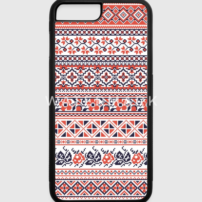 Collection cross-stitch pattern Accessories - iPhone 7 Plus Rubber Case