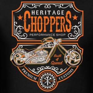 Heritage Choppers - Men's T-Shirt