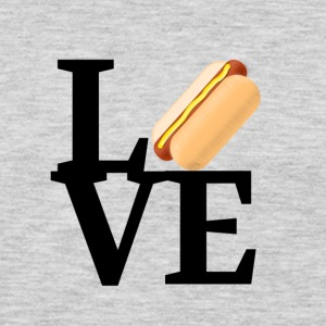 Hot Dog Love - Men's Premium Long Sleeve T-Shirt