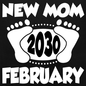 FEB MOM 2030 2.png T-Shirts - Men's Premium Tank