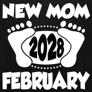 FEB MOM 2028 222.png T-Shirts - Men's Premium Tank