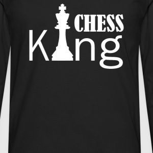 chess king - Men's Premium Long Sleeve T-Shirt