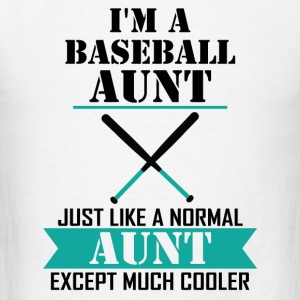 I'M A Baseball Aunt Just Like A Normal Aunt Excep Long Sleeve Shirts - Men's T-Shirt