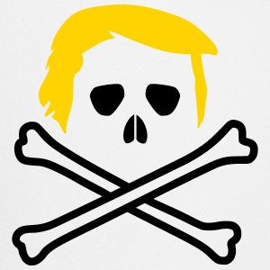 Trump Skull and Bones Flag T-Shirts - Trucker Cap